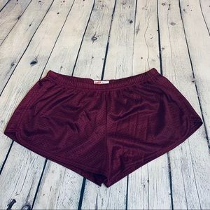 Soffe | Running Shorts Maroon Size XL